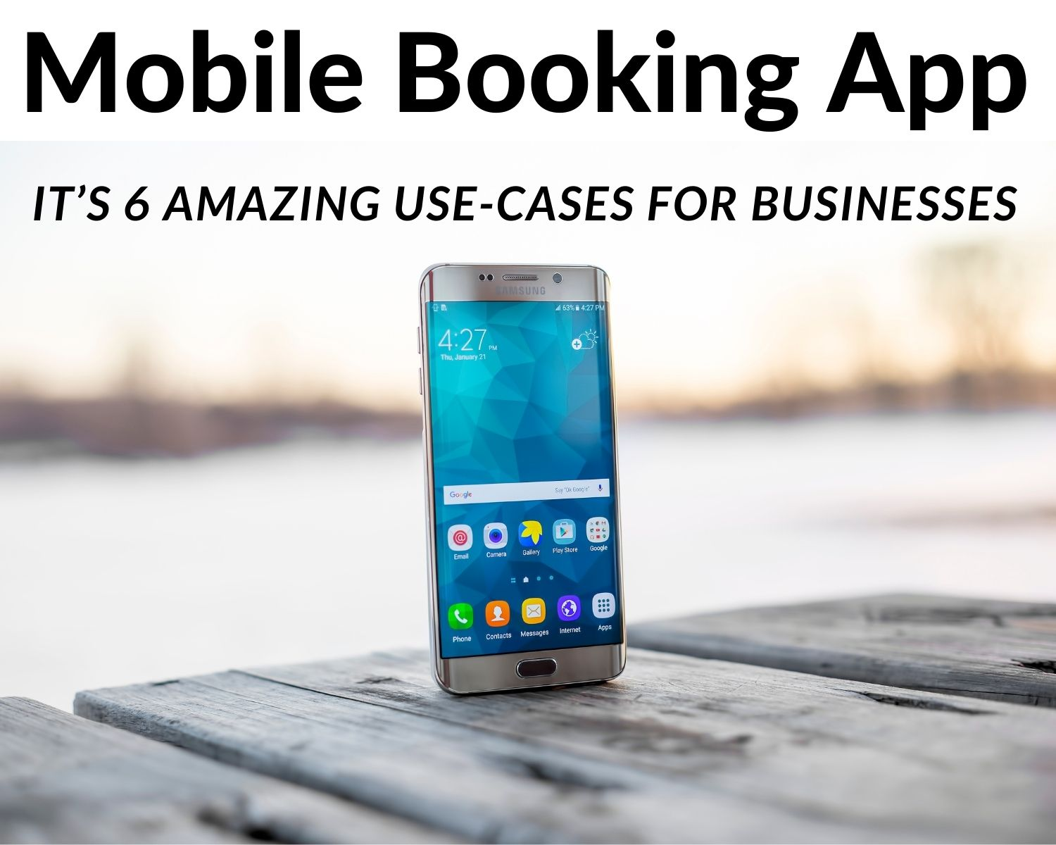 6 major use cases of a mobile booking app
